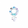 Swarovski Stone 4876 Female Symbol 18x11.5mm Crystal Aurora Borealis U 4Pcs